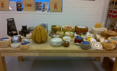 Cheese display at SW19